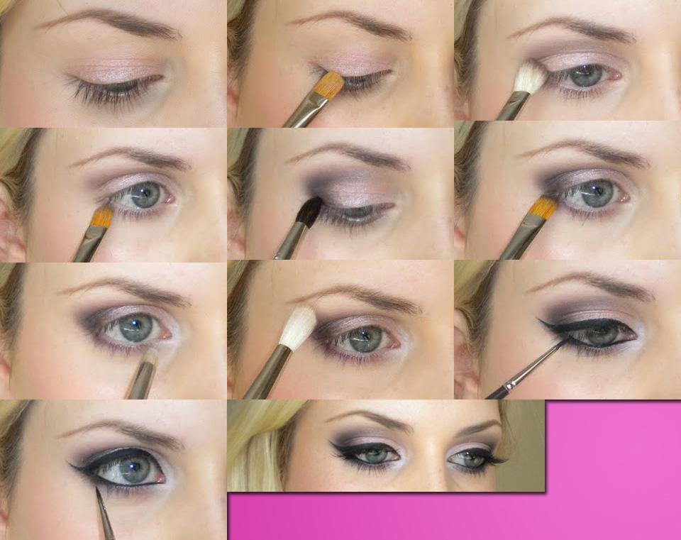 Последовательность вечернего макияжа